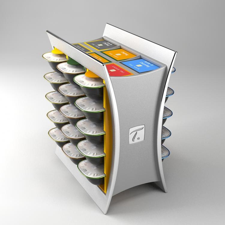 Pr sentoir capsules sp cial t phi design - Dosette pour special t ...