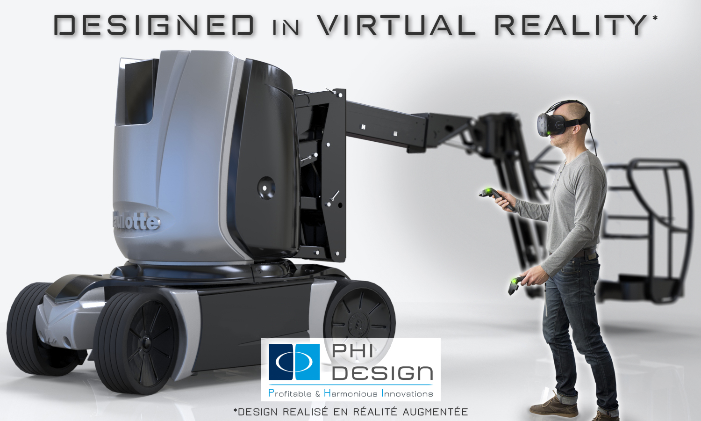 Virtual Reality Room par PHI DESIGN